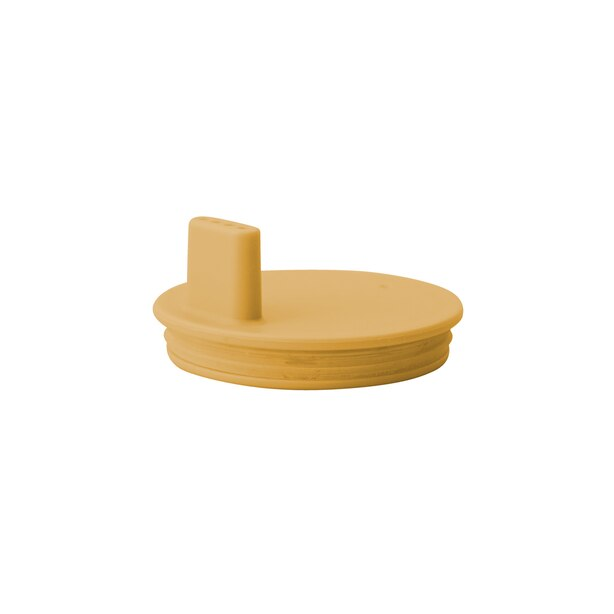 DRINK LID FOR TRITAN GLASS/CUP,  MUSTARD