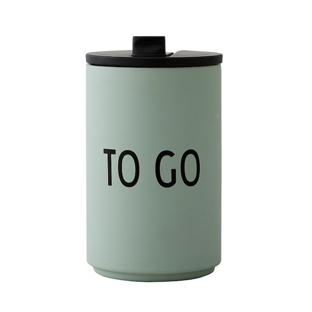 THERMO/INSULATED CUP - GREEN