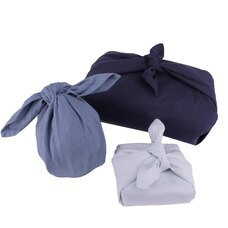The Organic Company Gift Wrap Set - Ocean