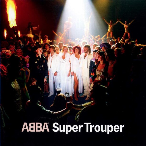 ABBA - SUPER TROUPER - VINYL