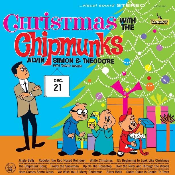 THE CHIPMUNKS - CHRISTMAS WITH THE CHIPMUNKS - VINYL