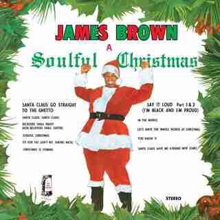 JAMES BROWN - A SOULFUL CHRISTMAS - VINYL