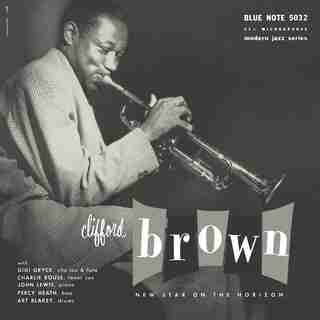 CLIFFORD BROWN - NEW STAR ON THE HORIZON - VINYL