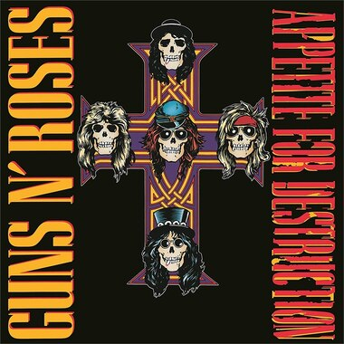 GUNS N ROSES - APPETITE FOR DESTRUCTION (REMASTERED) - VINYL