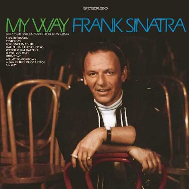 FRANK SINATRA - MY WAY 50TH ANNIVERSARY - VINYL