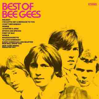 THE BEE GEES - THE BEST OF THE BEE GEES - VINYL