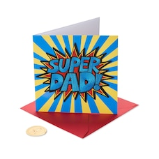 Papyrus Father's Day Card Super Dad