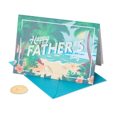 Papyrus Father's Day Card Paradise