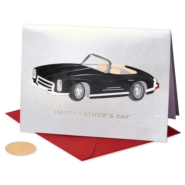 Papyrus Classic Car Greeting Card