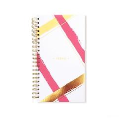 Lake + Loft Spiral Notebooks, Diagonal Plaid