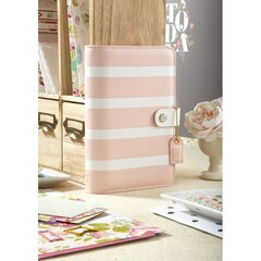 Webster's Pages 2018 12-Month Personal Planner - Blush Stripe