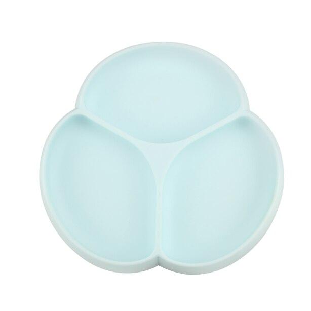 Glitter & Spice Silicone Suction Plate - Seafoam
