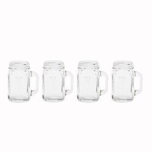 Mason Jar Shot Glasses – Set of 4