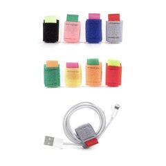 Kikkerland Cable Ties 8 Pack - Multi Colour