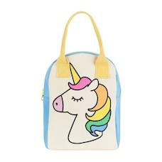 Zipper Lunch Bag - Unicorn