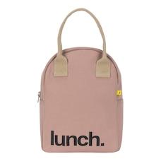 Zipper Lunch Bag Lunch Mauve / Pink
