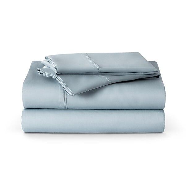 ENDY ORGANIC COTTON SHEETS - GLACIER BLUE, QUEEN