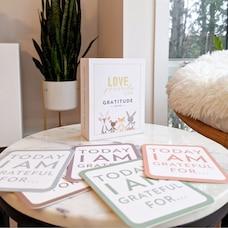 Love Powered Littles - Cartes De Gratitude Pour Enfants