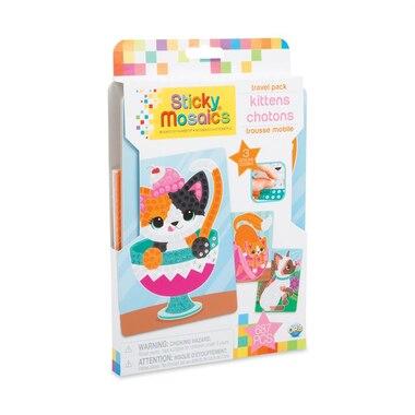 Sticky Mosaics Travel Packs Kittens