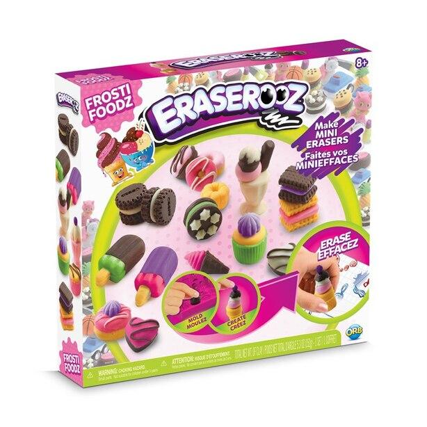 Eraserooz DIY Craft Custom Pencil Erasers Ice Cream