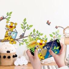 Wall Stories Stickers muraux pour enfants – Découvrez la lecture – Stickers muraux interactifs…