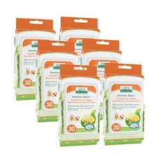 Aleva Naturals Bamboo Baby Pacifier and Toy Wipes - 180 Pack