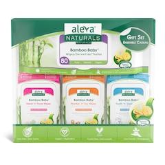 Aleva Naturals® Bamboo Baby® Wipes Gift Set
