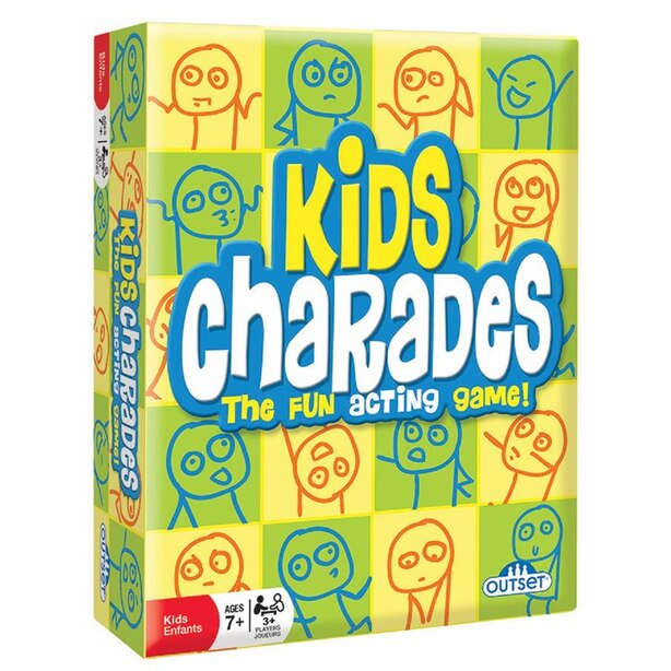 Outset® Kids Charades The Fun Acting Game