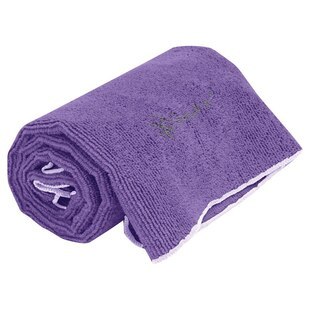 THIRSTY YOGA HAND TOWEL-DEEP PURPLE