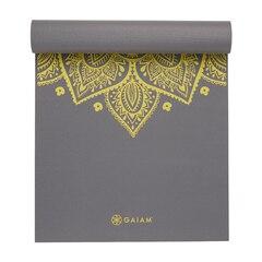 Gaiam 5mm Premium Yoga Mat - Citron Sundial