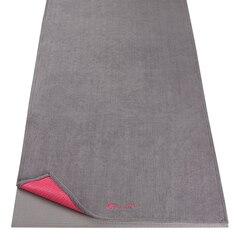 Gaiam Grippy Yoga Mat Towel - Pink Storm