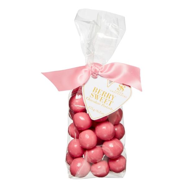Berry Sweet Chocolate Pretzel Bites