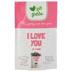 "Gift-A-Green Pouch – ""I Love You"" Radish Microgreens"