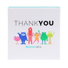 MANNERS&CO. THANK YOU CARDS