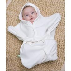 Bamboobino Enclosed Hooded Wrap - Size 0 - 6 Months