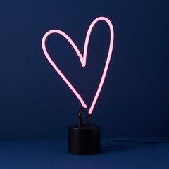 Lampe de table au néon – Cœur