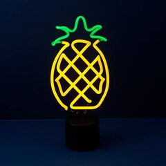 Neon Pineapple Table Lamp