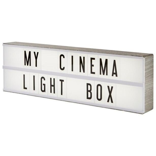 MY CINEMA LIGHTBOX® - Vintage Grey