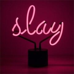 Neon Slay Table Lamp
