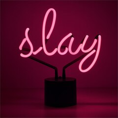 Neon Slay Table Lamp