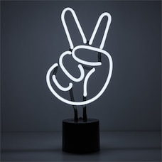 Neon Peace Table Lamp