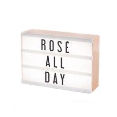 My Cinema Lightbox – Rose Gold