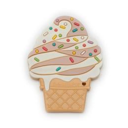 LouLou LOLLIPOP Teether Chocolate Twist Ice Cream Cone