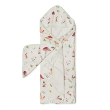 Loulou Lollipop Hooded Towel Set - Woodland Gnome