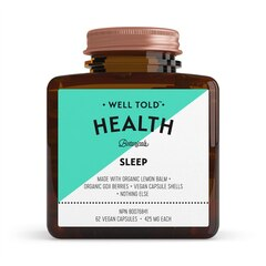 WELL TOLD HEALTH SLEEP BOOSTER