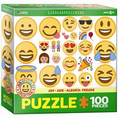 Emoji Joy 100 PC Puzzle