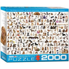 The World of Dogs 2000-Piece Puzzle