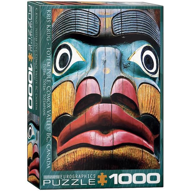 1000pc Totem Pole Canada Puzzle