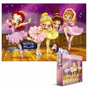 100 Piece Go Girls Go Puzzle - Ballet
