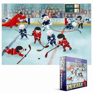 60 Piece Puzzle - Junior League Hockey
